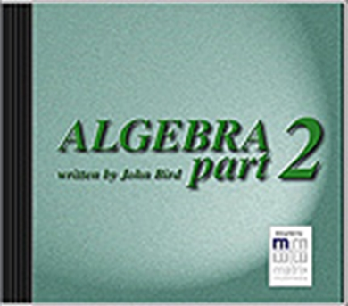 Picture of Algebra 2 CD Tutorial