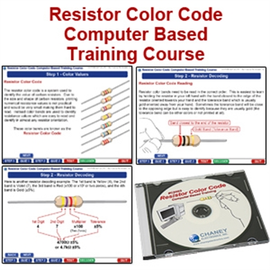 Picture of Resistor Color Code CD Course