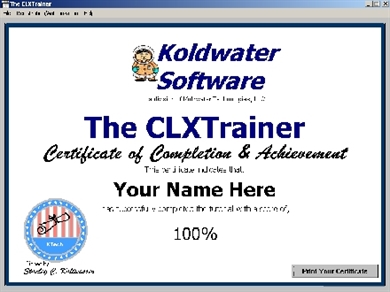 Picture of CLXTrainer CD Course