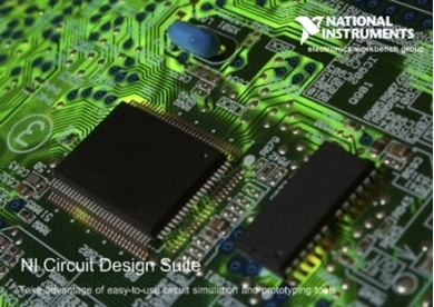 Picture of NI Multisim Circuit Design Suite V13