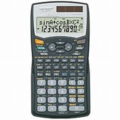 Picture of Sharp EL-506WB Scientific Calculator