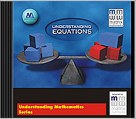 Picture of Understanding Equations CD Tutorial