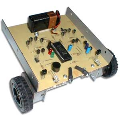 Picture of Microcontrolled IR Remote Controlled Robot Kit