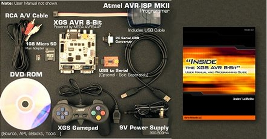 Picture of XGS AVR 8-Bit Development System