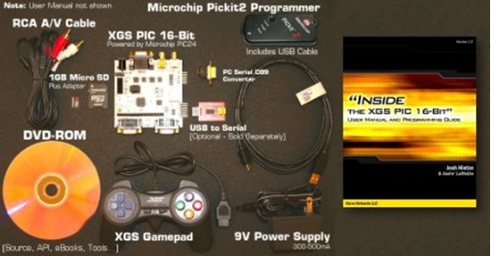 Picture of XGS PIC 16-Bit Development System