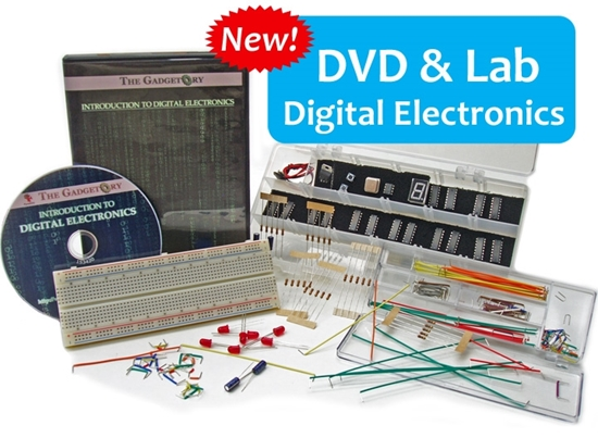 Picture of Digital Electronics DVD Course & Lab