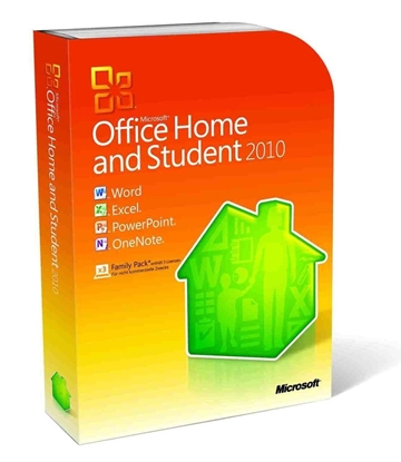 Picture of Microsoft Office Home and Student 2010